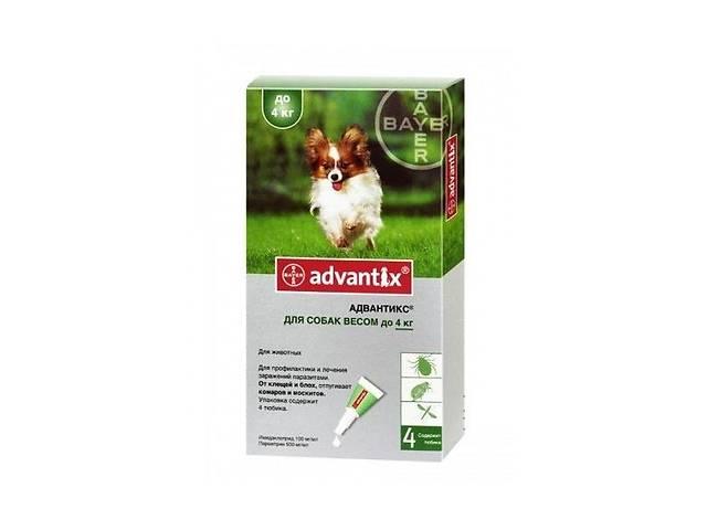 продам Bayer ADVANTIX - средство от блох и клещей для собак до 4 кг бу в Киеве