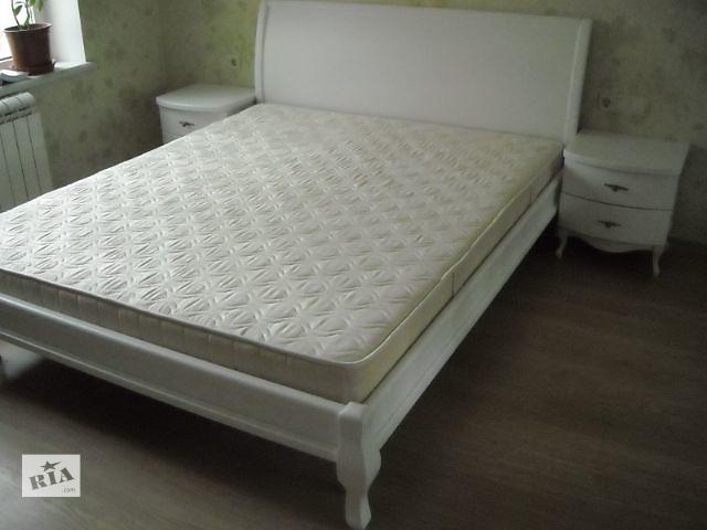 купить бу Белая деревянная кровать в Белой Церкви