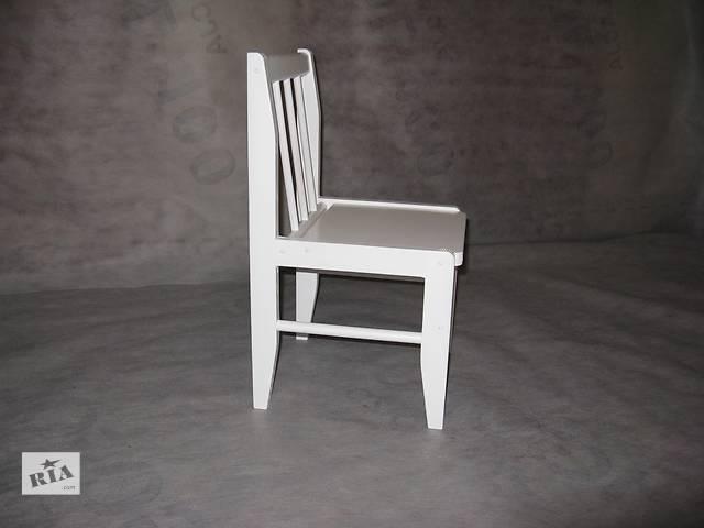 Белоснежный детский стул.- объявление о продаже  в Харькове