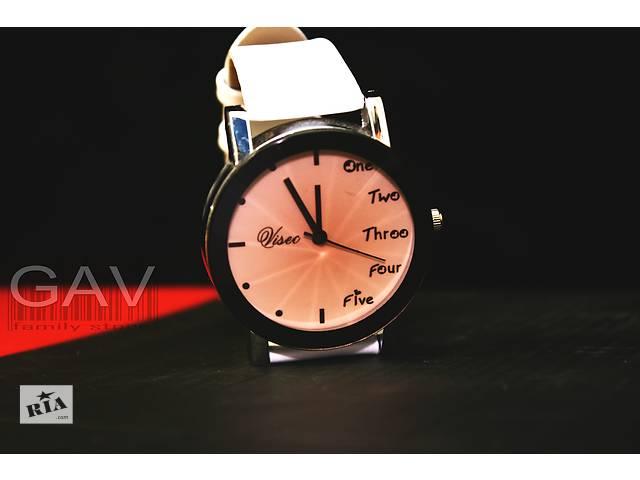 Белые женские часы на руку- объявление о продаже  в Миргороде
