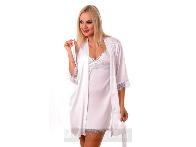 Белый комплект с французским кружевом К011н- объявление о продаже  в Харькове
