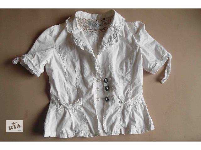 белый  пиджак- объявление о продаже  в Киеве