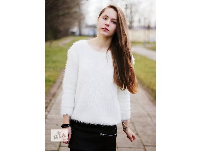 бу Белый свитер в Киеве