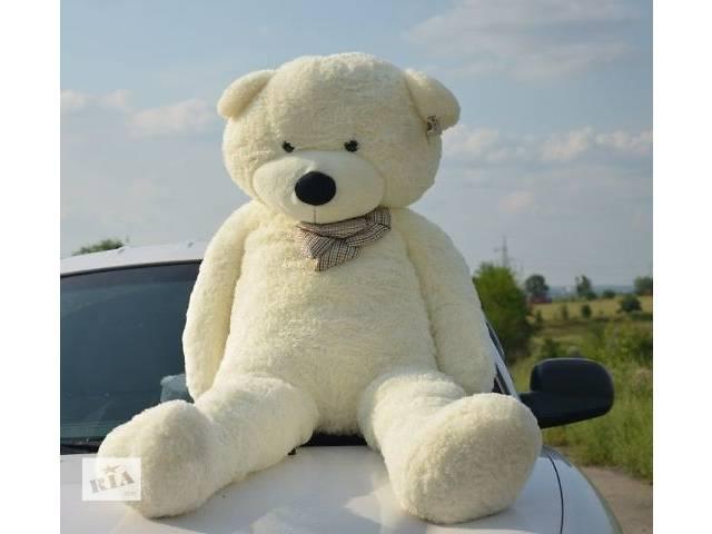купить бу Белый плюшевый медведь 160 см (большой мишка 1,6 метра) в Кривом Роге (Днепропетровской обл.)