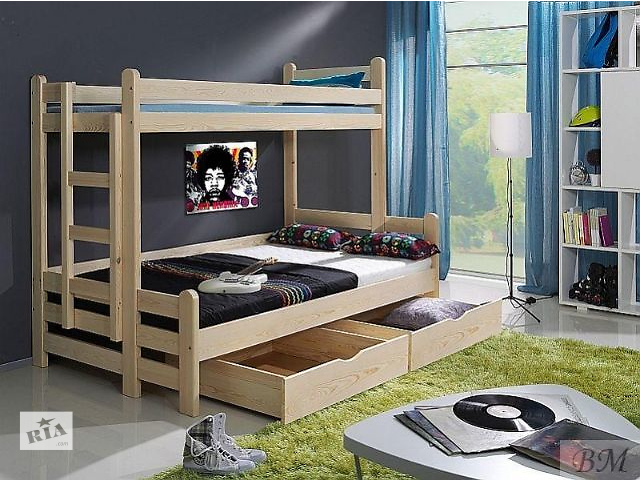 Benjamin - двухъярусная трехместная кровать от фабрики мебели- объявление о продаже  в Киеве
