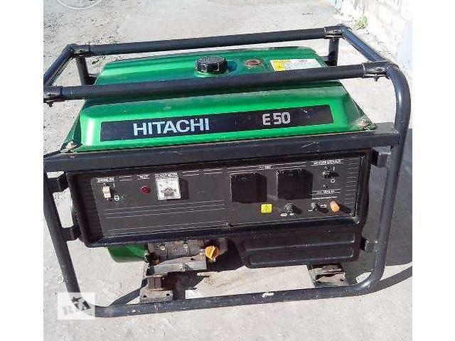 бу Бензогенератор Hitachi Е-50 в Украинке