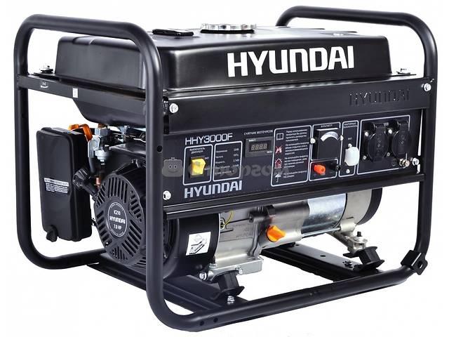 купить бу Бензогенератор Hyundai HHY 3000 F  в Киеве
