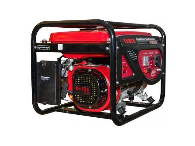 купить бу Бензогенератор Saber мощностью 2,8 и 5,5 кВт в Ирпене
