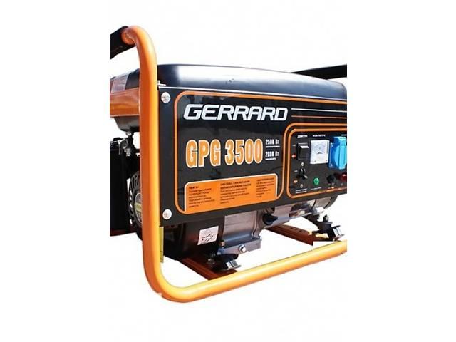 купить бу Бензиновая однофазная электростанция Gerrard GPG3500 в Киеве