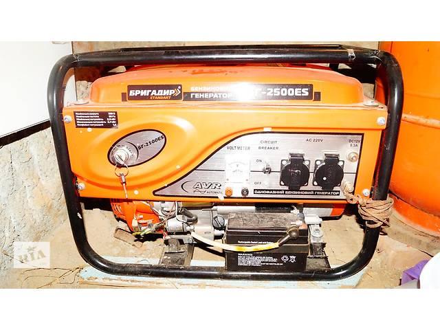 купить бу Бензиновый генератор БГ - 2500ES в Виннице