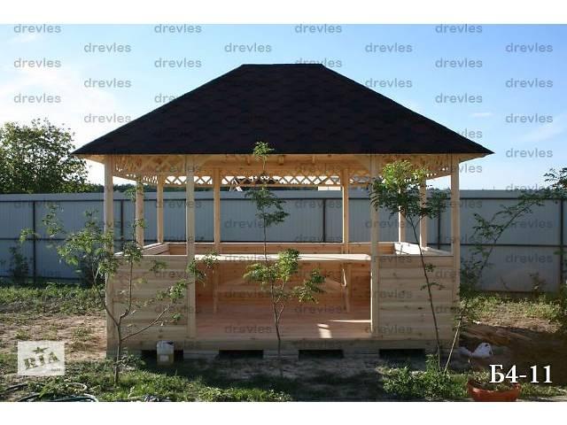 купить бу Беседка садовая деревянная / Б4-11 в Чернигове