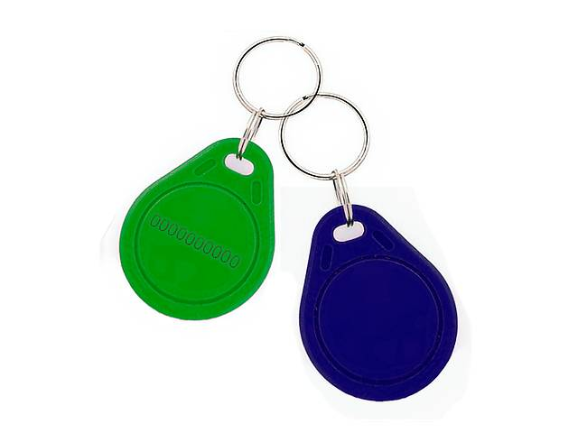 купить бу Бесконтактный плоский RFID-брелок с железным кольцом с чипом в Одессе