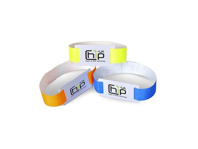 продам Бесконтактный RFID-браслет с полноцветной печатью на бумажном ремешке с чипом бу в Одессе