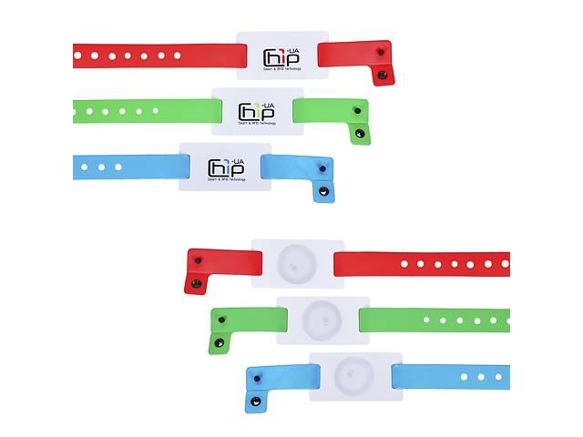 купить бу Бесконтактный RFID-браслет с полноцветной печатью на силиконовом ремешке с застежкой с чипом в Одессе