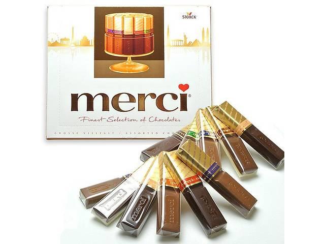 продам Шоколадные конфеты Merci ( мерси 250 г ) бу в Ужгороде