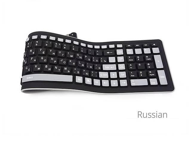 Беспроводная силиконовая клавиатура РУС ЯЗ- объявление о продаже  в Днепре (Днепропетровск)
