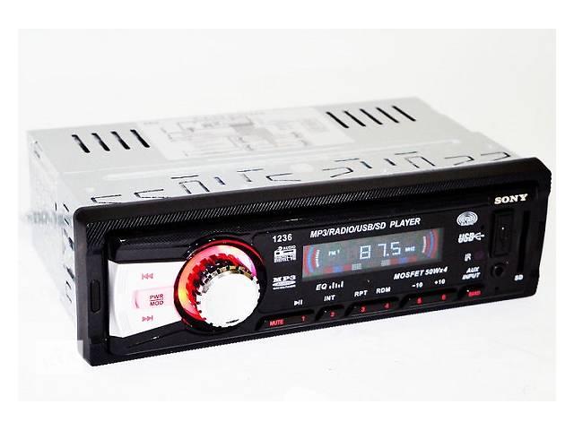 продам Бездисковая USB SD FM автомагнитола Sony CDX-GT1236 копия аудиовход AUX 3.5 пульт бу в Одессе