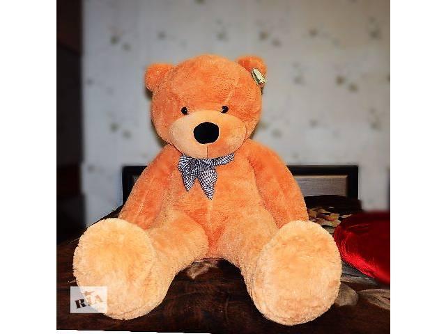 бу Бежевый плюшевый медведь Boyds 160 см (большой мишка 1,6 метра) в Кривом Роге (Днепропетровской обл.)