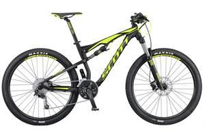 Новые Велосипеды-двухподвесы Scott
