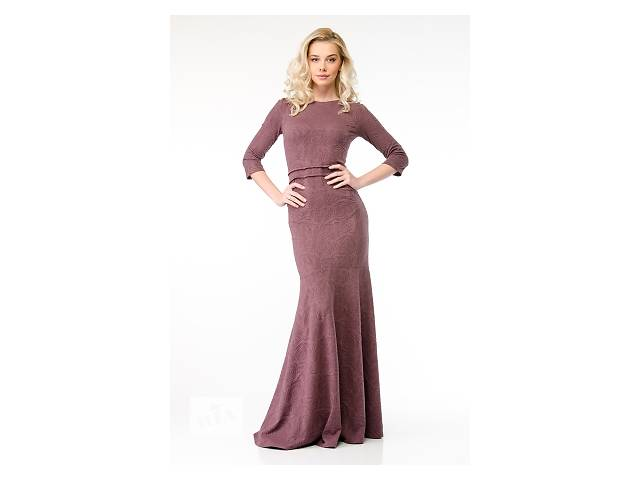 продам Бледно-фиолетовое платье арт.14143 бу в Киеве