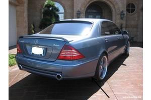 Новые Спойлеры Mercedes S-Class