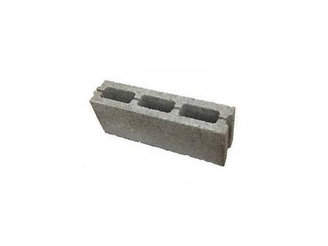 бу Блок бетонный вибропрессованный перегородочний в Львове