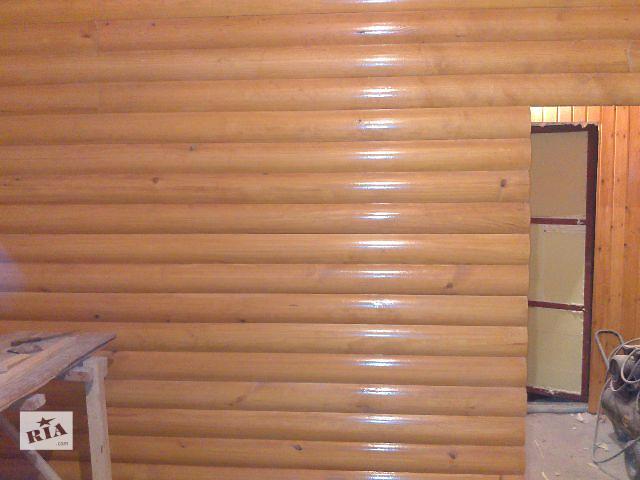 купить бу Блок-хаус лиственница европейская (1 сорт) 20х90 в Днепре (Днепропетровск)