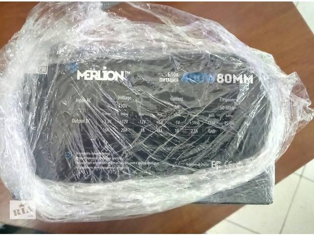 Блок Питания Merlion 400W новый- объявление о продаже  в Одессе