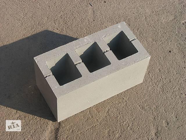 бу Блок стеновой бетонный 390*190*188 в Виннице