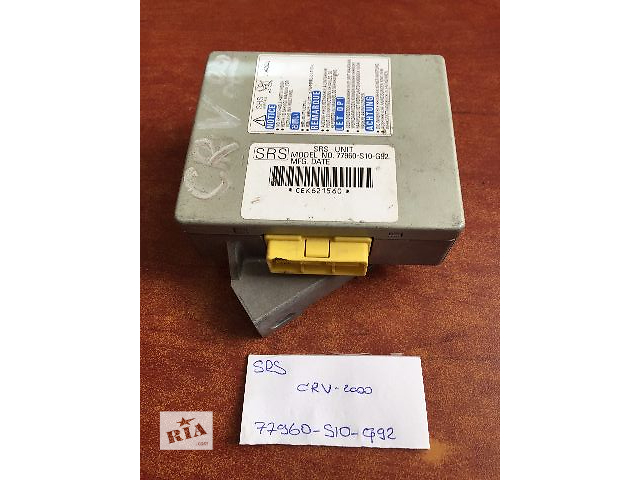 бу Блок управления airbag  Honda  77960-SN7-G81  77960-S10-G92  77960-S1A-G91-M1 в Одессе