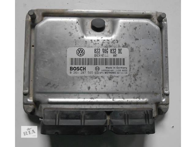 бу Блок управления бензинового двигателя Мозги 3.2 бензин Volkswagen Touareg Туарег 022906032BE 2003 - 2005 в Ровно