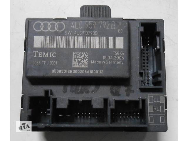 Блок управления двери 4L0959792B 4L0959794C 4L0959795C 4L0907290 Audi Q7 Ауди Кю 7- объявление о продаже  в Ровно