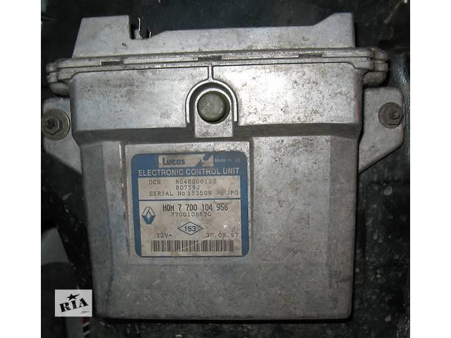 купить бу  Блок управления двигателем-1.9D--LUCAS--N-7 700 104 956- для легкового авто Renault Kangoo в Хмельницком