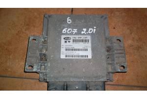 б/у Блоки управления двигателем Peugeot 607