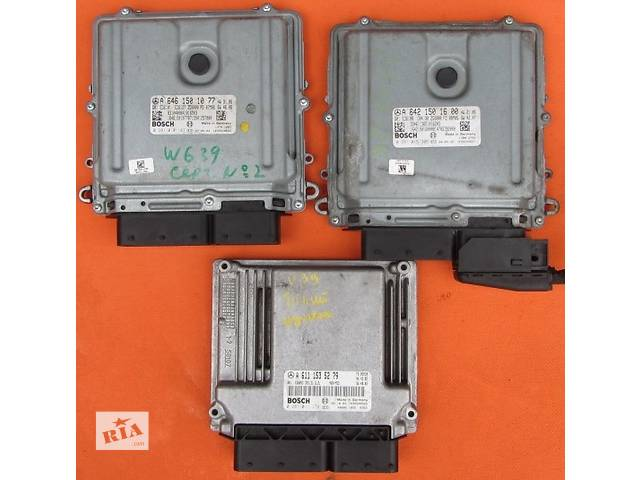 Блок управления двигателем ЭБУ ЕБУ Мозги А6461531091 Mercedes Vito (Viano) Мерседес Вито V639 (109, 111, 115, 120)- объявление о продаже  в Ровно