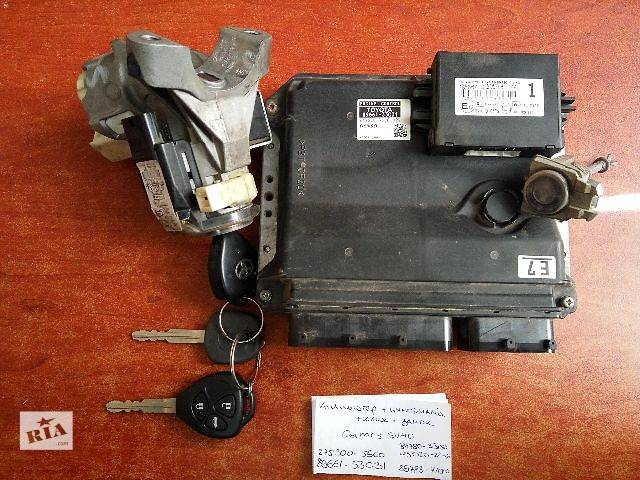 Блок управления двигателем ,иммобилайзер, ключи, замок  Toyota Camry  275300-5660  89661-33C31  89780-331504- объявление о продаже  в Одессе