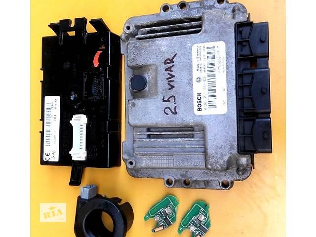 продам Блок управления двигателя комфорта комплект 2.5 Opel Vivaro Опель Виваро Renault Trafic Рено Трафик Nissan Primastar бу в Ровно