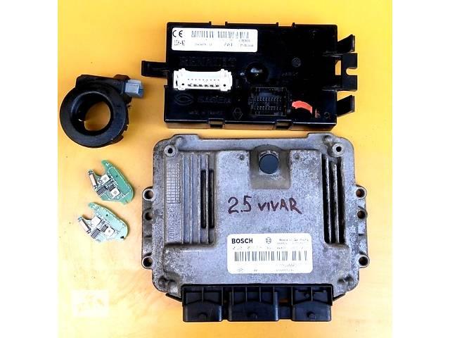 бу Блок управления двигателя, комплект 2.5 0281011531, 8200374949 Renault Trafic Рено Трафик Opel Vivaro Опель Виваро в Ровно