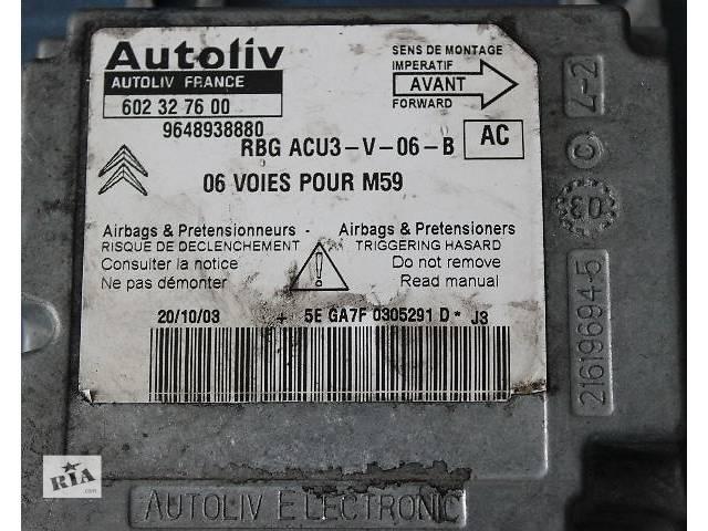 купить бу Б/у блок управления airbag для легкового авто Peugeot Partner в Стрые