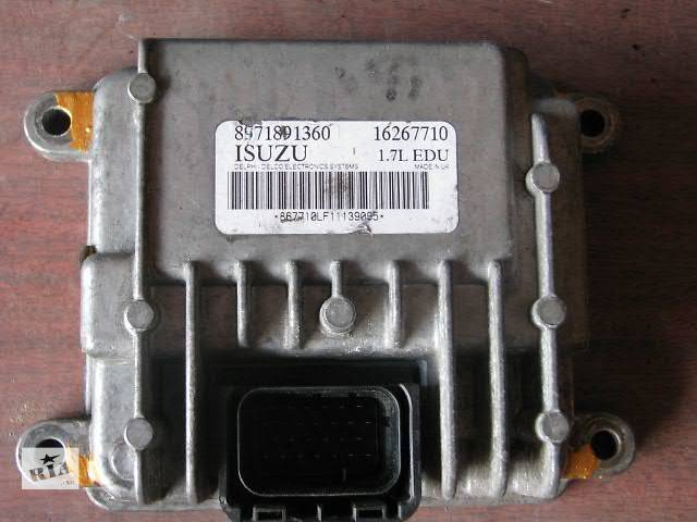 блок управления тнвд Легковой Opel Combo 2004 1.7 dti- объявление о продаже  в Хмельницком