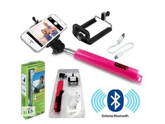 купить бу Bluetooth монопод для селфи | Блютуз селфи палка | штатив | selfie в Киеве