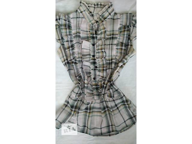 бу Блуза рубашка под пояс  в Виннице