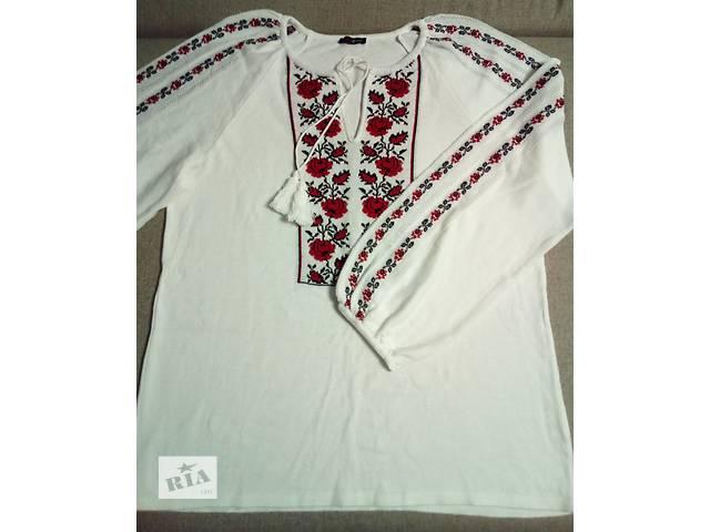 Блуза-Вышиванка XXL (52 размер)- объявление о продаже  в Черкассах