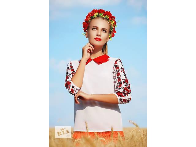 бу Блузы-вышиванки в Киеве