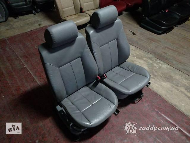 продам BMW5 E39 (E34) - передние кожаные сиденья бу в Киеве