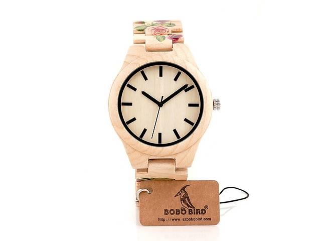 купить бу Bobo Bird еко-годинник деревяний корпус та браслет в Львове