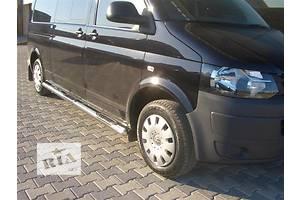 Новые Боковые пороги, подножки Volkswagen T5 (Transporter)