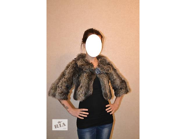 продам Болеро Zara из эко-меха S/26 бу в Луцке