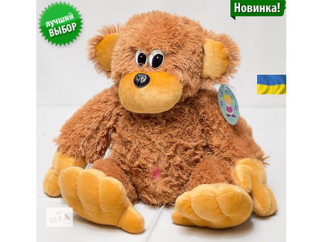 продам Большая мягкая обезьяна 75 см бу в Черноморске (Ильичевске)