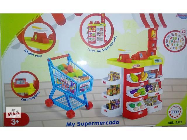 бу Большой детский магазин-супермаркет 1512, высота 95см в Одессе